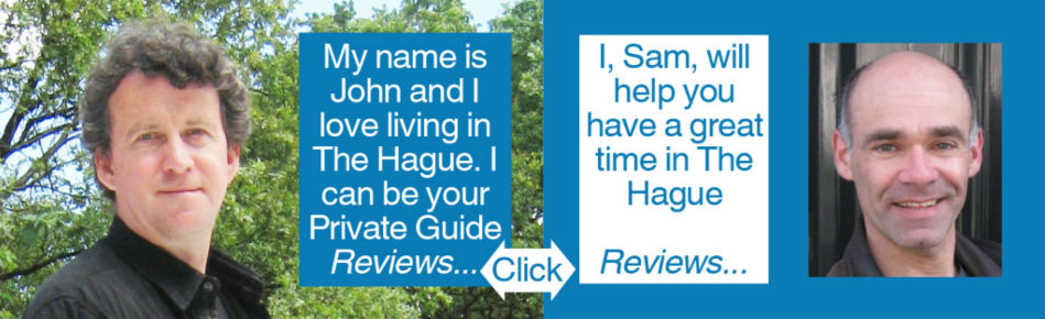 Guided Tours of The Hague by John and Sam Click for Reviews