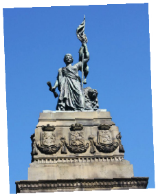 Tour The Hague and see the 1813 monument