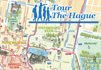 Tour The Hague Map Logo