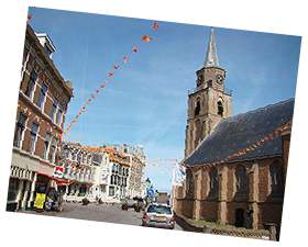Tour the old village in Scheveningen whilst we Guide you in The Hague