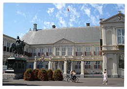 Tour Palace Noordeinde in The Hague