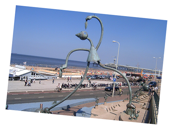 Guided Tours of Scheveningen is an option when you Tour The Hague